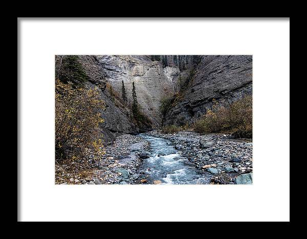 Alaska Framed Print featuring the photograph Hole-in-the-wall 2018 by Fred Denner