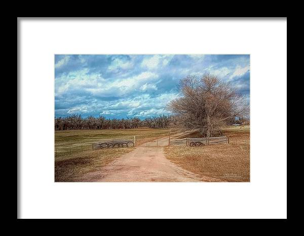 Colorado Framed Print featuring the photograph Home On The Range by Mike Braun
