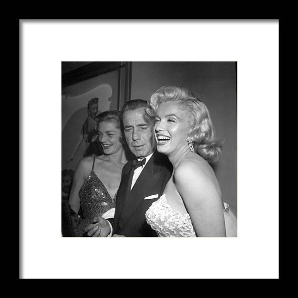 How To Marry A Millionaire Framed Print featuring the photograph How To Marry A Millionaire Premiere by Michael Ochs Archives