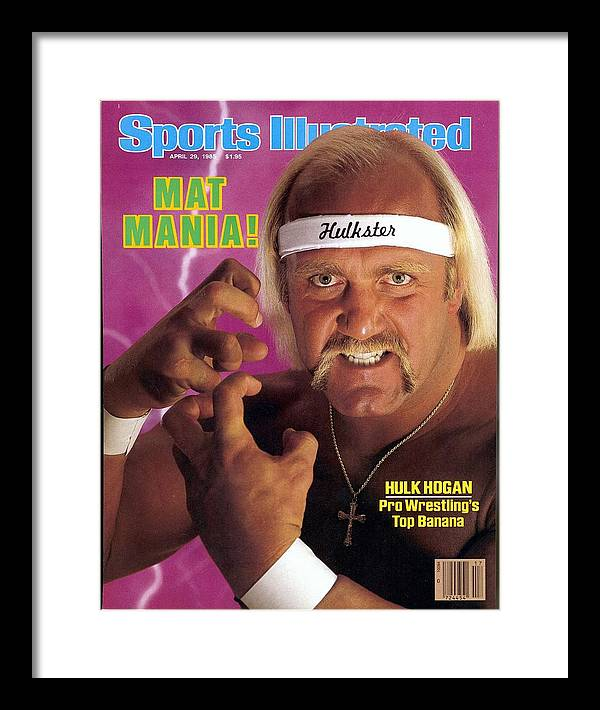 1980-1989 Framed Print featuring the photograph Hulk Hogan, Wwf Professional Wrestling Sports Illustrated Cover by Sports Illustrated