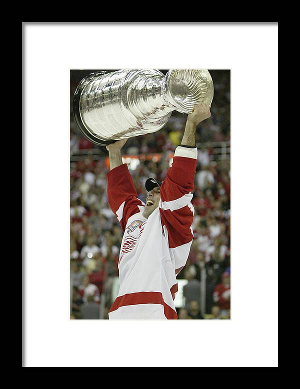Playoffs Framed Print featuring the photograph Hurricanes V Red Wings by Elsa