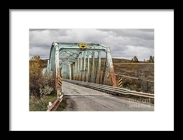 Allenfoto Framed Print featuring the photograph Hwy 552 Bridge by Brad Allen Fine Art
