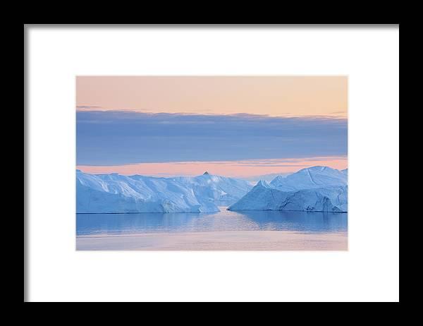 Iceberg Framed Print featuring the photograph Iceberg by Raimund Linke
