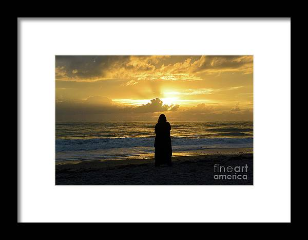 Sunrise Framed Print featuring the photograph If You Don't Understand It, It Doesn't Mean It's Wrong by Eddy Mann