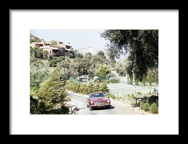 Tennis Framed Print featuring the photograph Il Pellicano Tennis by Slim Aarons