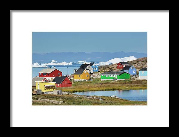 Ilulissat Icefjord Framed Print featuring the photograph Ilulissat by Cornelia Doerr