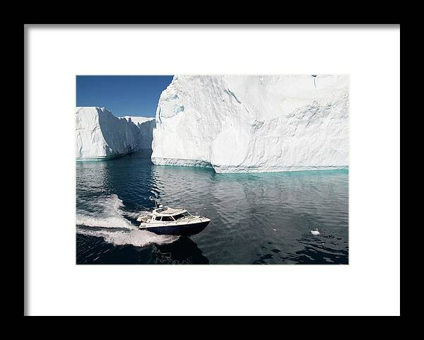 Scenics Framed Print featuring the photograph Ilulissat, Disko Bay by Gabrielle Therin-weise