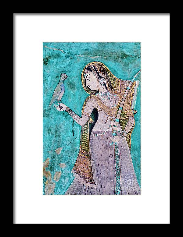 Part Of A Series Framed Print featuring the photograph India, Rajasthan, Bundi Castle by Tuul & Bruno Morandi