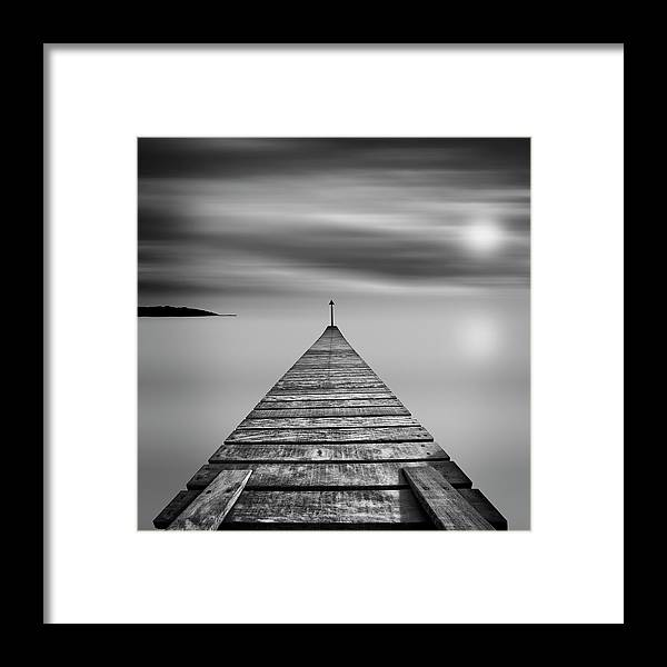 Tranquility Framed Print featuring the photograph Infinity by Ray Bradshaw