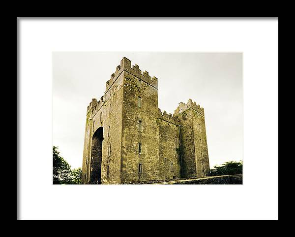 Bunratty Castle Framed Print featuring the photograph Ireland Bunratty Castle In County by Alantobey