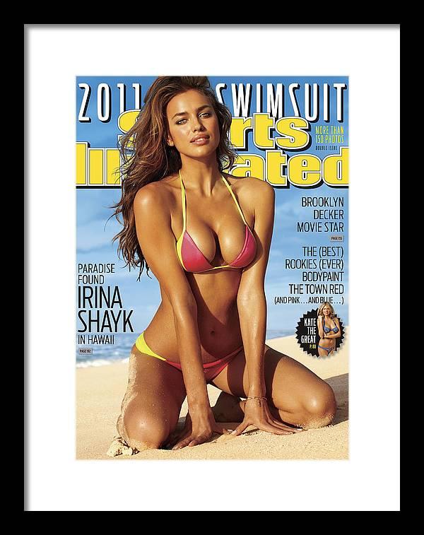Irina Shaykhlislamova Framed Print featuring the photograph Irina Shayk Swimsuit 2011 Sports Illustrated Cover by Sports Illustrated