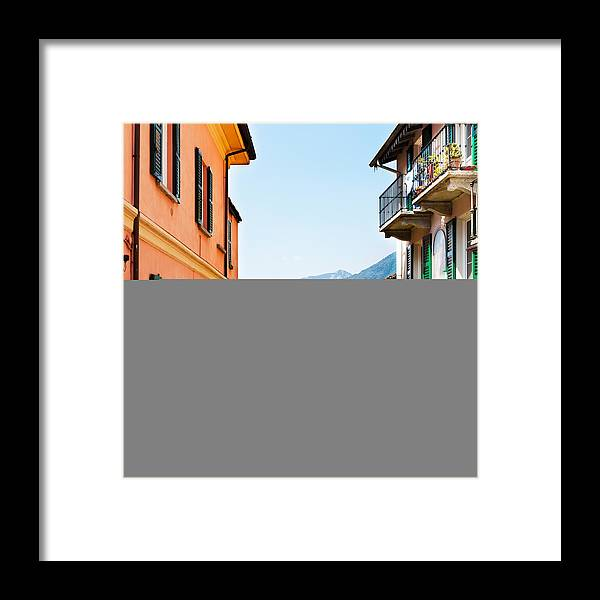 Italian Culture Framed Print featuring the photograph Italian Village by Tomml