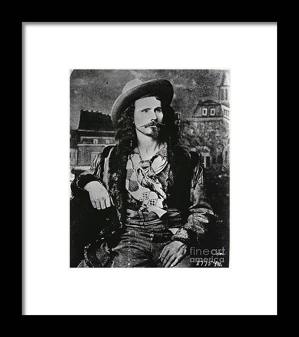 People Framed Print featuring the photograph Jack Crawford Poet And Scout by Bettmann
