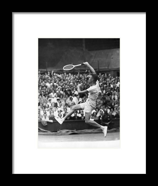 Tennis Framed Print featuring the photograph Jack Kramer by Douglas Miller