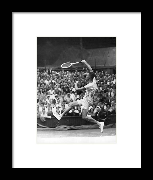 Tennis Framed Print featuring the photograph Jack Kramer by Douglas Miller