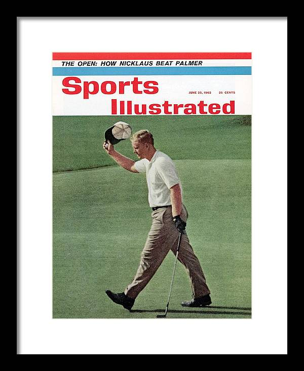 Magazine Cover Framed Print featuring the photograph Jack Nicklaus, 1962 Us Open Sports Illustrated Cover by Sports Illustrated