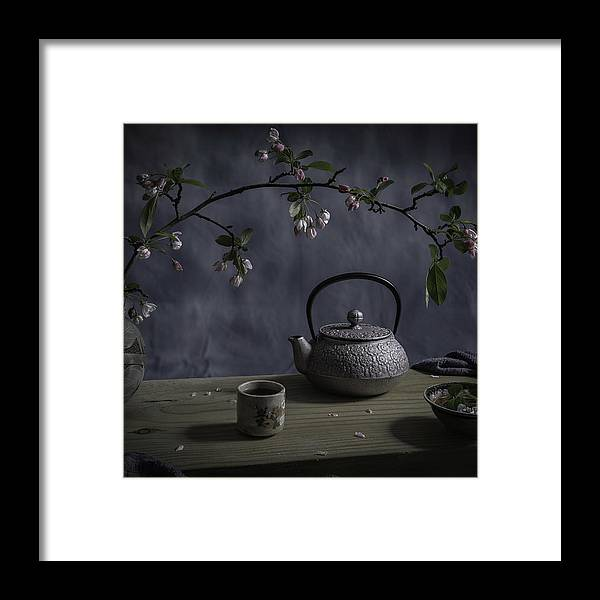 Tea Framed Print featuring the photograph Japanese Tea by Binbin Lu