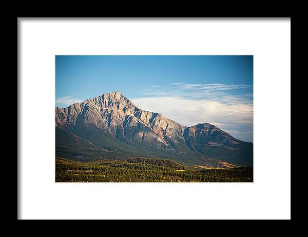 Scenics Framed Print featuring the photograph Jasper Valley by Abishome