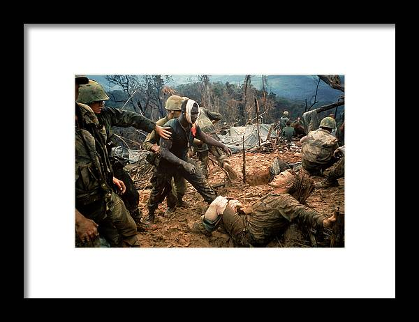 Timeincown Framed Print featuring the photograph Jeremiah Purdie by Larry Burrows