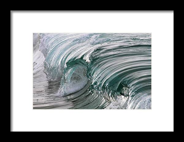 Scenics Framed Print featuring the photograph Jibbon Wave by Ewen Charlton