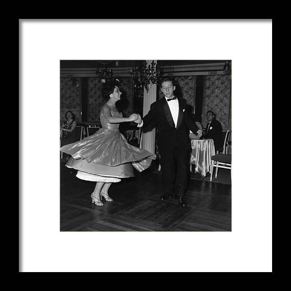 1950-1959 Framed Print featuring the photograph Jiving by Express Newspapers