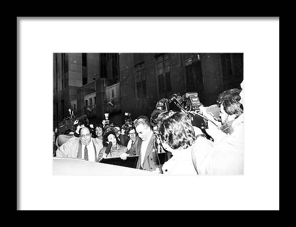 1980-1989 Framed Print featuring the photograph John Gotti by Bettmann