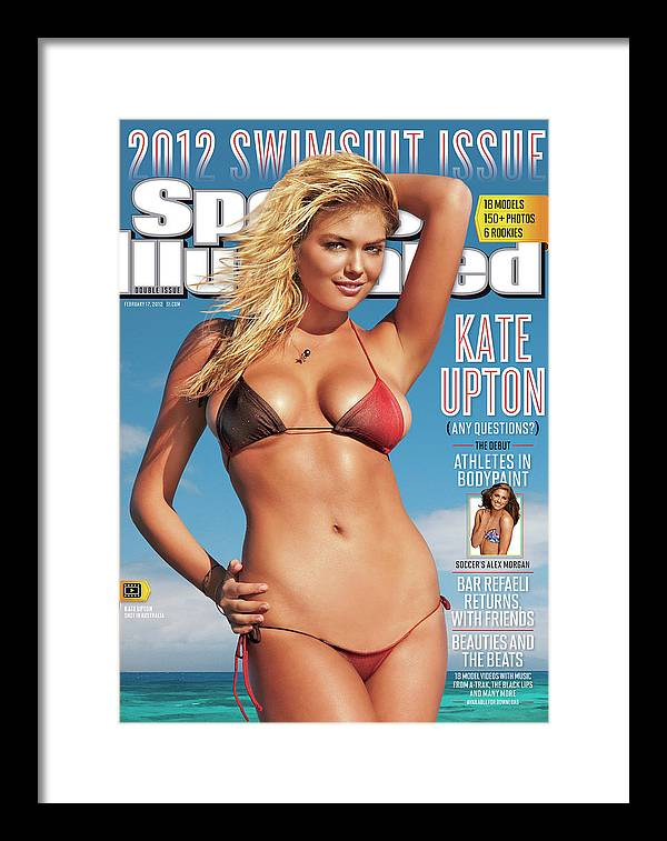 Cairns Framed Print featuring the photograph Kate Upton Swimsuit 2012 Sports Illustrated Cover by Sports Illustrated