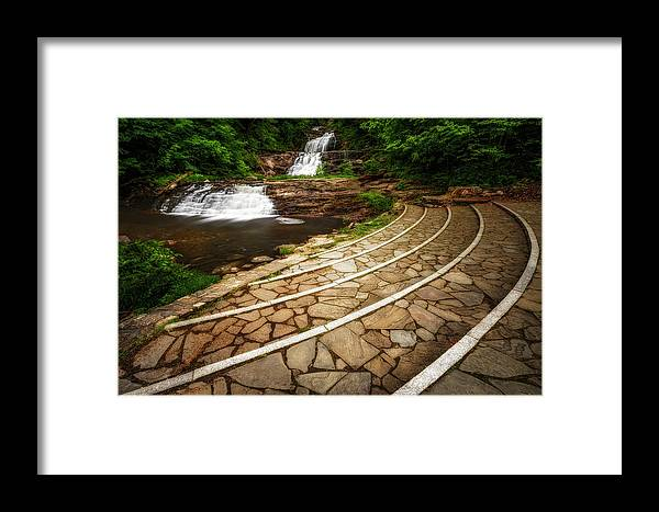 Kent Falls Framed Print featuring the photograph Kent Falls Ct by Susan Candelario
