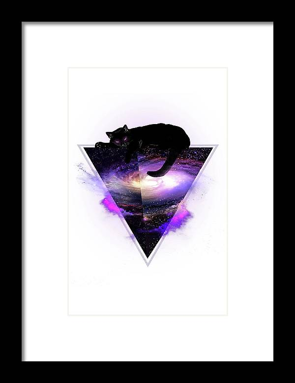 King Of The Known Universe Alpha Framed Print featuring the painting King Of The Known Universe Alpha by Robert Farkas