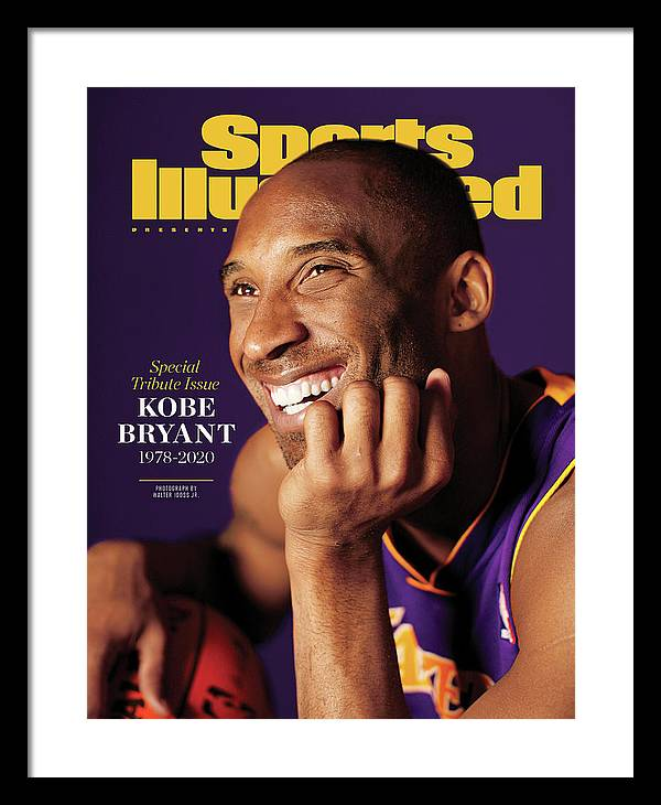Event Framed Print featuring the photograph Kobe Bryant 1978 - 2020 Special Tribute Issue Sports Illustrated Cover by Sports Illustrated