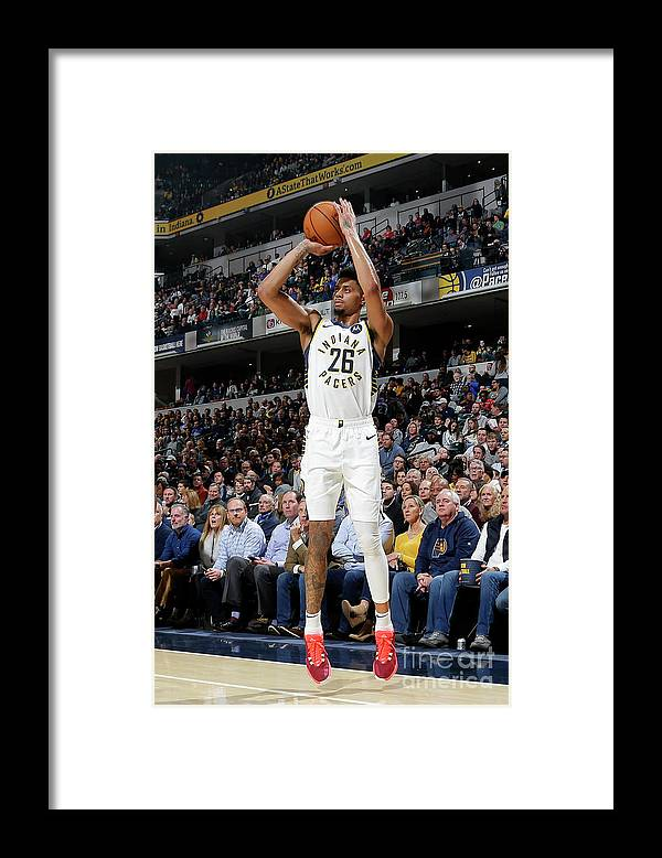 Nba Pro Basketball Framed Print featuring the photograph La Clippers V Indiana Pacers by Ron Hoskins