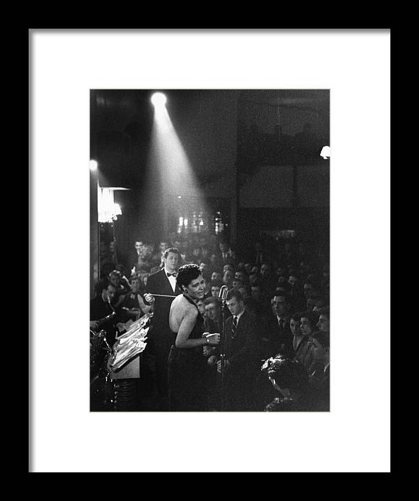 Singer Framed Print featuring the photograph Lady Day by Charles Hewitt