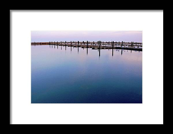 Lake Michigan Framed Print featuring the photograph Lake by Lynn Fagerlie