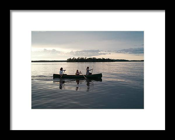 Tranquility Framed Print featuring the photograph Lake Of The Woods, Ontario, Canada by Design Pics/keith Levit