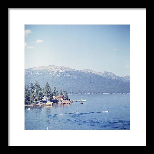 1950-1959 Framed Print featuring the photograph Lake Tahoe by Slim Aarons