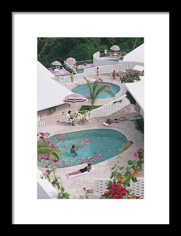 Apartment Framed Print featuring the photograph Las Brisas Hotel by Slim Aarons