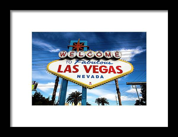 Outdoors Framed Print featuring the photograph Las Vegas by Aluma Images