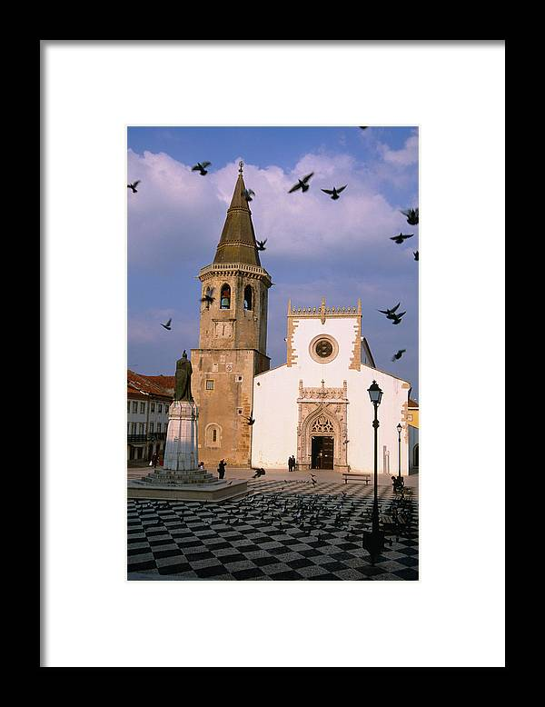 People Framed Print featuring the photograph Late 15th Century Igreja De Sao Joao by Anders Blomqvist