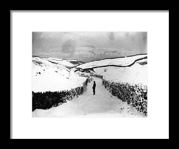 Mineral Framed Print featuring the photograph Lead Picking by Topical Press Agency