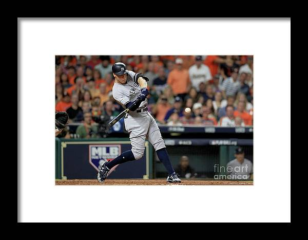 Championship Framed Print featuring the photograph League Championship Series - New York by Ronald Martinez