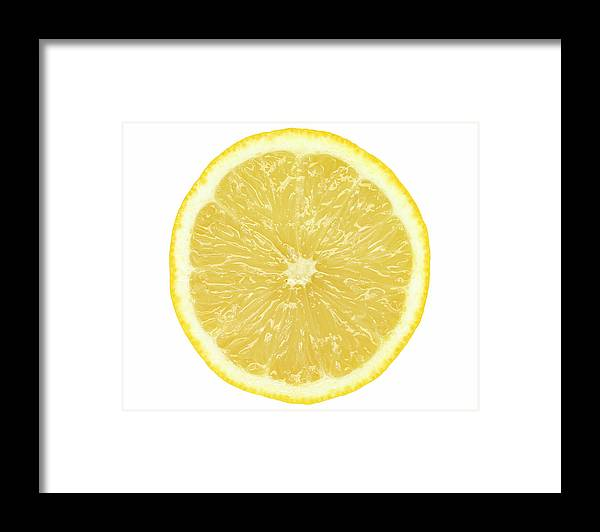 Limon Province Framed Print featuring the photograph Lemon by Suzifoo