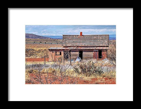 New Mexico Framed Print featuring the photograph Little Pink Houses by JC Findley