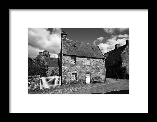 Locronan Framed Print featuring the photograph Locronan 6b by Andrew Fare