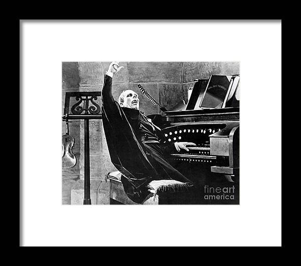 Ugliness Framed Print featuring the photograph Lon Chaney As The Phantom Of The Opera by Bettmann