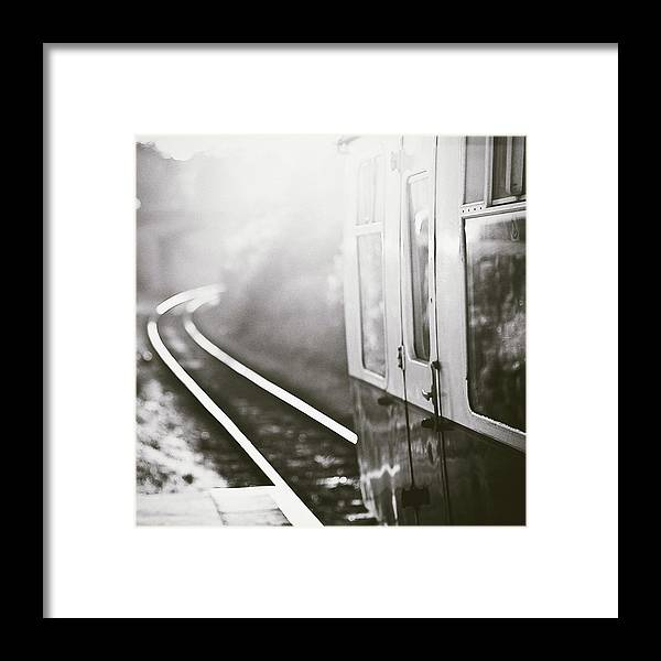 Train Framed Print featuring the photograph Long Train Running by James Homer