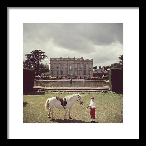Horse Framed Print featuring the photograph Lord Of All I Survey by Slim Aarons