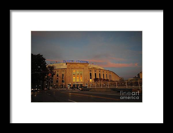 American League Baseball Framed Print featuring the photograph Los Angeles Angels Of Anaheim V New by Rich Pilling
