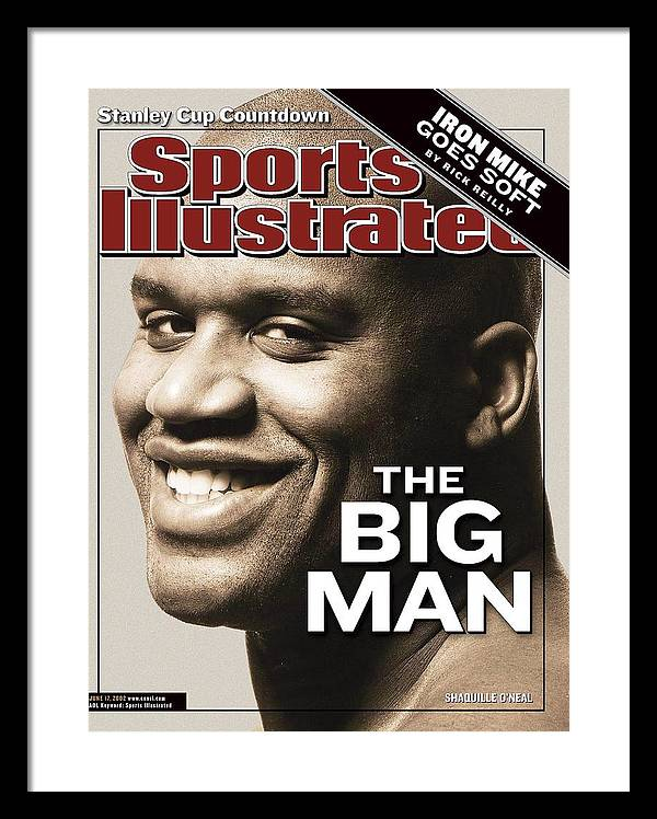 Los Angeles Lakers Shaquille Oneal Sports Illustrated Cover Framed Print