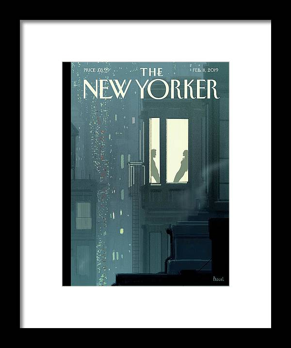 Love Interest Framed Print featuring the painting Love Interest by Pascal Campion