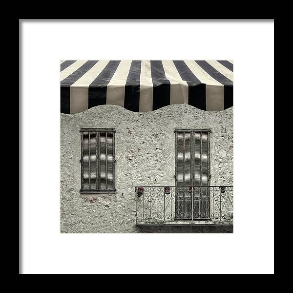 Abstract Framed Print featuring the photograph Lovely Balconnet by Gilbert Claes